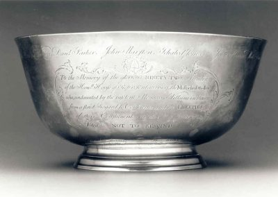 Silver liberty bowl