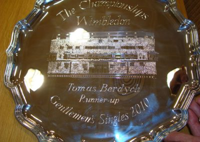 Wimbledon 2010 Men's Final Runner Up salver