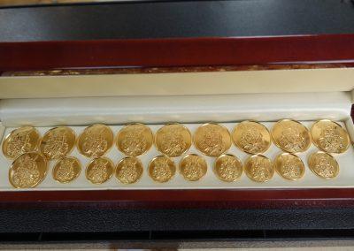 Gold Blazer Buttons